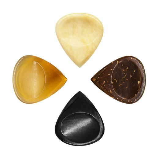 Jazz Tones Groove Mixed Pack of 4 Guitar Picks